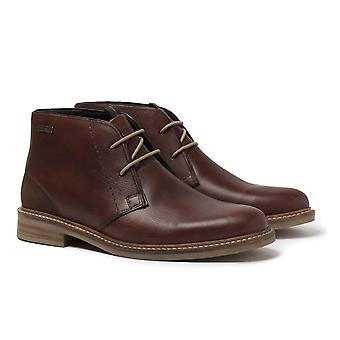 Barbour Readhead Dark Brown Leather Desert Boots