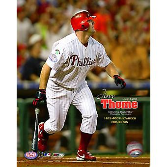 Jim Thome 400th Career Home Run June 14 2004 Photo Print