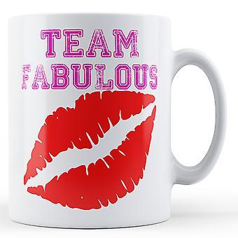 Team Fabulous - Printed Mug