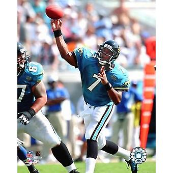 Byron Leftwich - 04 Passing Action Photo Print