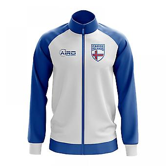 Faroe Islands Concept Football Track Jacket (White)