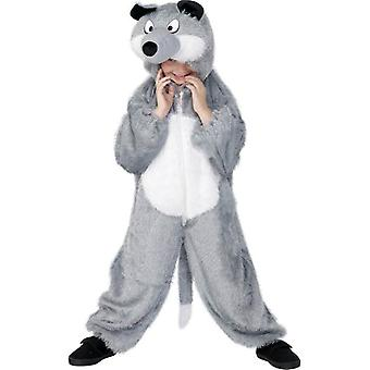 Wolf Costume, Medium.  Medium Age 7-9