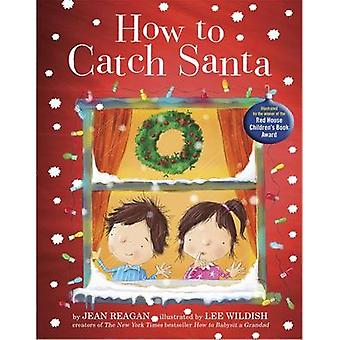 How to Catch Santa by Jean Reagan - Lee Wildish - 9781444925470 Book