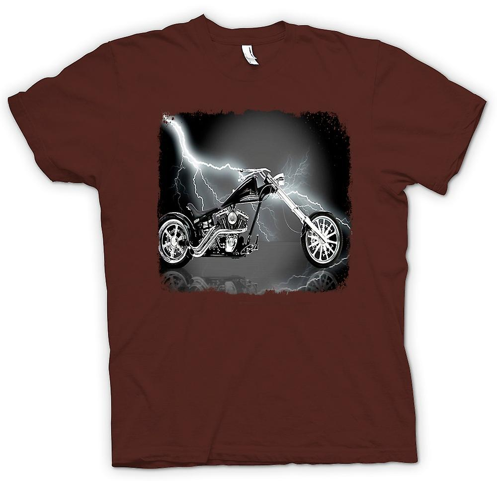 Mens t-skjorte-Chopper Biker Hog