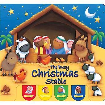 Beschäftigt Weihnachten Stall von Juliet David - Sarah PItt - 978185985803