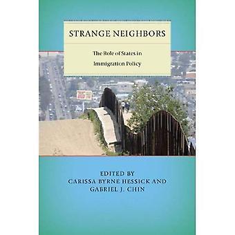 Mærkelige naboer: Rollen som stater i politik for indvandring (Citizenship and Migration i Amerika)