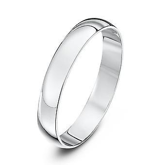 Star Wedding Rings Platinum Light D 3mm Wedding Ring