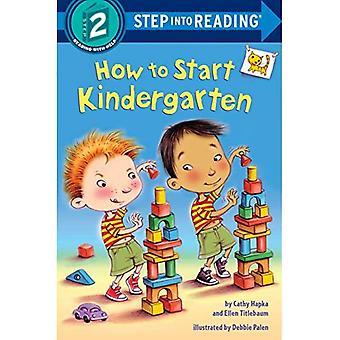 Comment faire pour commencer la maternelle (étape en lecture)