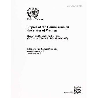 Commissie inzake de Status van vrouwen: verslag over de 61e zitting (24 maart 2016 en 13-24 maart 2017) (officiële records, 2017: aanvulling)