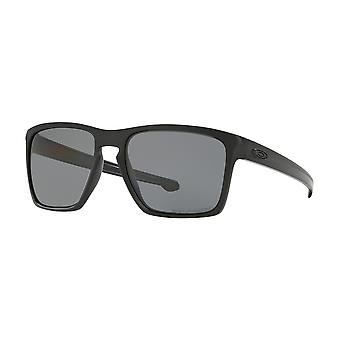 Oakley 1 Black Sliver XL Square Sunglasses Polarised Fishing, Driving Lens Category 3 Size 57mm