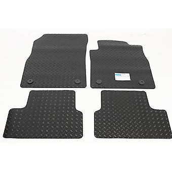 Rubber Tailored Car Floor Mats - Opel ASTRA GTC J 2011-2018