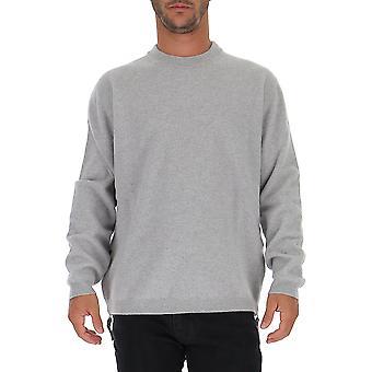 Laneus Grey Wool Sweater