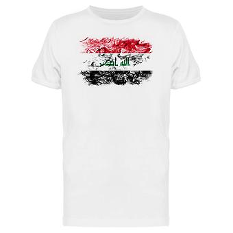 Iraq Smoky Flag Tee Men's -Image by Shutterstock