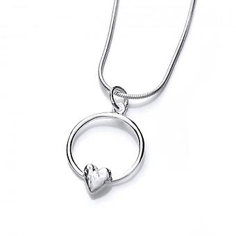 Cavendish French Silver Love Pendant without Chain