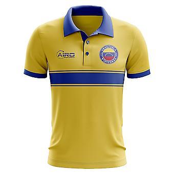Wenezuela koncepcja koszula Polo z paskiem (żółty)