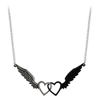 Alchemy Gothic Passio: Wings Of Love Pewter Pendant
