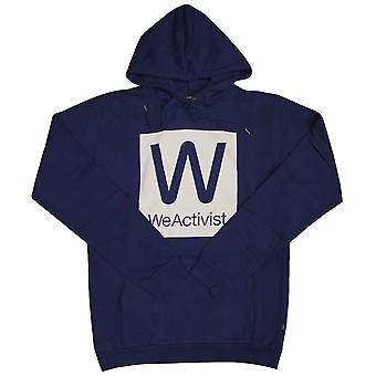 Wesc WeActivist Hood Men's Hooded Sweatshirt - Estate Blue