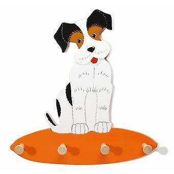 Weizenkorn coat rack Dog Billy Wood