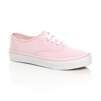 Ajvani vrouwen canvas Lace up Pumps gympies trainers sneakers skate schoenen