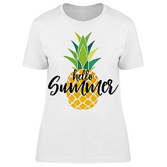 Hello Summer Tropic Fruit Tee Women's -Image by Shutterstock