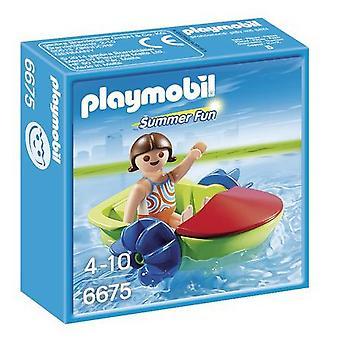 プレイモービル子供ボート 6675