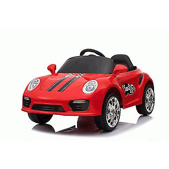 RideonToys4u Kids12V Boxster tyyli urheilu Coupe Electric Ride On Auto punainen