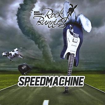 Schuberts Rock Bunn - Speedmachine [CD] USA importeren