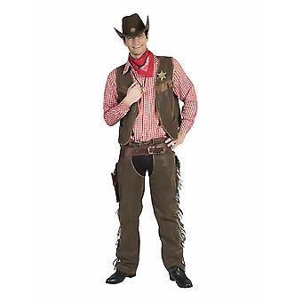 Cowboy Cowherd Men's Costume Sheriff Men's Costume