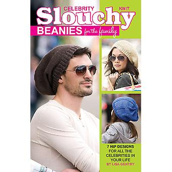 Leisure Arts Knit Celebrity Slouchy Beanies La 75357