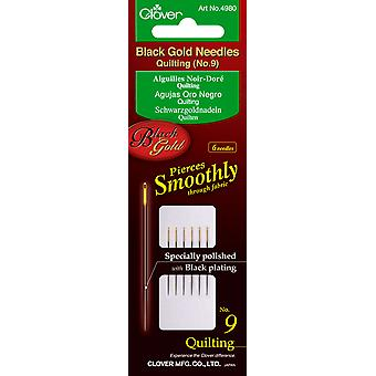 Black Gold Quilting Needles Size 9 6 Pkg 4980