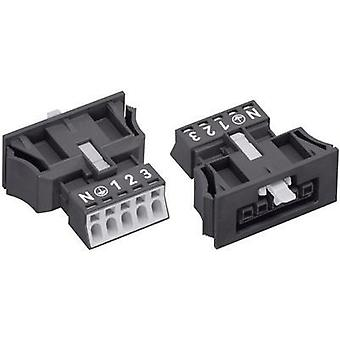 Conector de red ATT. LISTA DE VALORES. SERIES_POWERCONNECTORS WINSTA MINI enchufe, recto Total número de pines: 5 16 negro WAGO 890