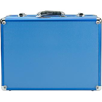 Copic Aluminum Case With Shoulder Strap-Blue IICASE-BLUE