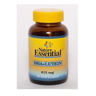 Nature Essential Dha + lutein 615 Mg. 50 pearls
