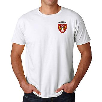 Afghanistan Commando Special Forces Embroidered Logo - Cotton T Shirt