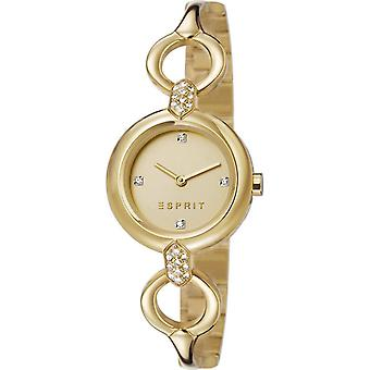 ESPRIT ladies watch bracelet watch Naomi stainless steel gold ES107332003