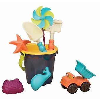 B. Sands beach bucket set Ahoy! (Outdoor , Garden Toys , Sand Toys)