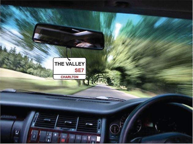 Charlton / The Valley Street Sign Car Air Freshener