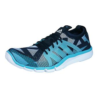adidas Core Grace Womens Fitness Trainers / Shoes - Black and Blue