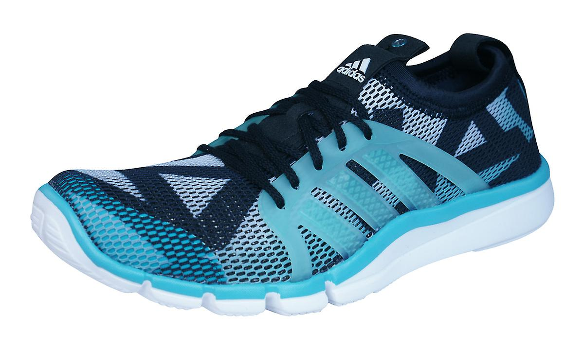 adidas Shoes Core Grace Womens Fitness Trainers / Shoes adidas - Black and Blue 3f5f51