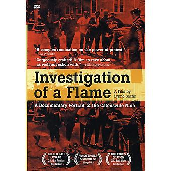 Investigation of a Flame [DVD] USA import