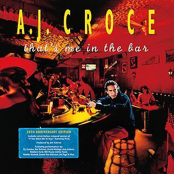 A.J. Croce - ese soy yo en el Bar (edición 20 aniversario) importación [vinilo] Estados Unidos