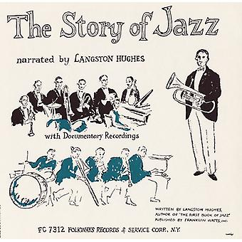 Langston Hughes - Story of Jazz [CD] USA import