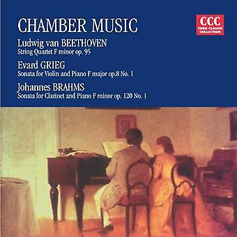 Beethoven/Grieg/Brahms - Chamber Music: Beethoven, Grieg, Brahms [CD] USA import