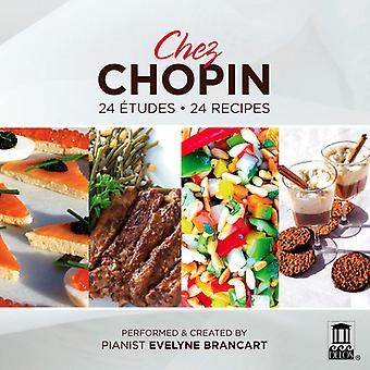 F. Chopin - Chez Chopin: 24 Etudes, 24 Recipes [CD] USA import
