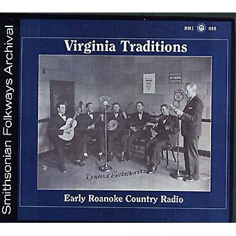Virginia traditioner - tidig Roanoke Country Radio [CD] USA import