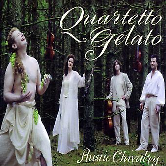 Quartetto Gelato - Rustic Chivalry [CD] USA import