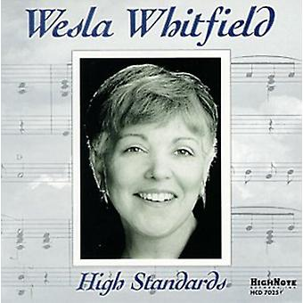 Weslia Whitfield - High Standards [CD] USA import