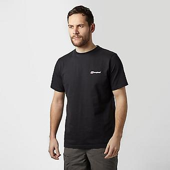 New Berghaus Men's Back Block Logo Tee Clothing Black
