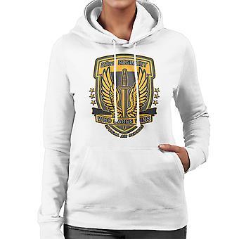 22nd Regiment Insignia COD 4 Modern Warfare Women's Hooded Sweatshirt