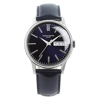 Simon Carter Watch - Deep Navy